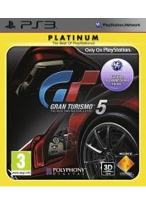 Gran Turismo 5 - Platinum (PS3)