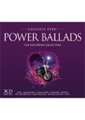 Various Artists - Greatest Ever Power Ballads (Music CD)