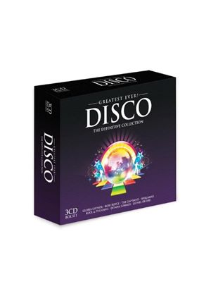 Various Artists - Greatest Ever Disco: the Definitive Collection (Music CD)