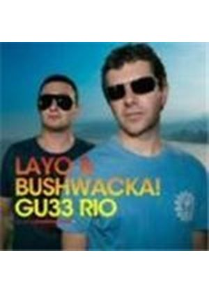 Layo And Bushwacka - Rio De Janiero - GU032 (Music CD)