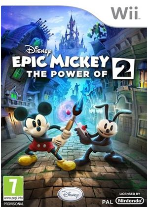 Disney's Epic Mickey: The Power Of 2 (Wii)
