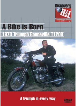 A Bike Is Born Triumph Bonneville