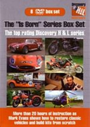 Discovery Health & Leisure: The Is Born Series (Box Set) (8 Discs)
