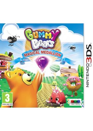 Gummy Bears Magic Medallion (Nintendo 3DS)