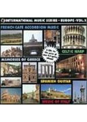 Various Artists - Europe Vol.1 (French Cafe Accordion Music/Spanish Guitar/Memories Of Greece/Music Of Italy/Celtic Harp)