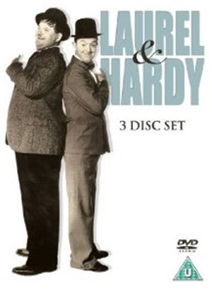 Laurel and Hardy 3 Disc Box Set - Laurel And Hardy - Flying Deuces/Laurel and Hardy - Utopia/Laurel And Hardy - March Of The Wooden Soldiers