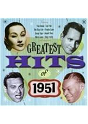 Various Artists - Greatest Hits Of 1951, The (Music CD)