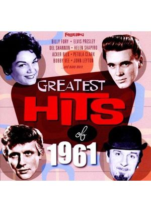 Various Artists - Greatest Hits of 1961 (Music CD)