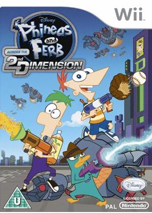 Phineas & Ferb: Across The 2nd Dimension (Wii)