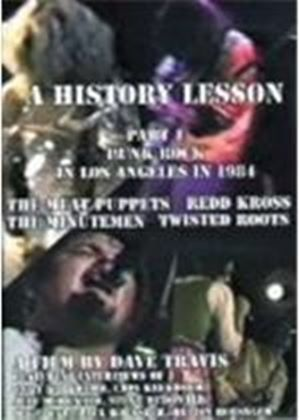 Various Artists - History Lesson Part 1 (Punk Rock in Los Angeles in 1984/+DVD) [DVD Audio]