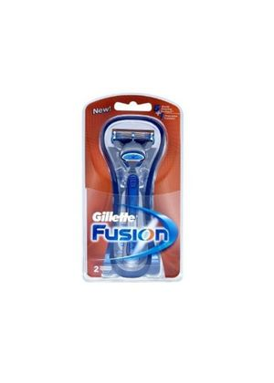 Fusion Manual Razor With 2 Replacement Blade Heads