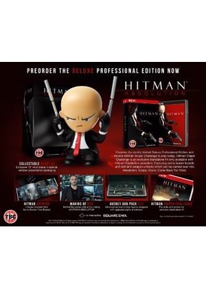 Hitman Absolution - Deluxe Professional Edition (PC DVD)