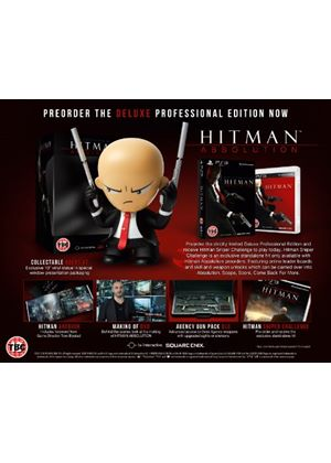 Hitman Absolution - Deluxe Professional Edition (PS3)
