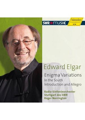 Elgar: Enigma Variations; In the South; Introduction and Allegro (Music CD)