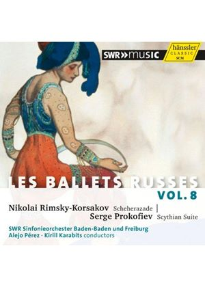 Ballets Russes, Vol. 8 (Music CD)