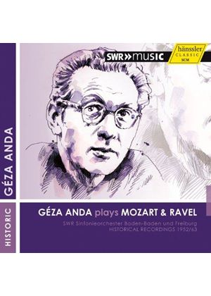Géza Anda plays Mozart & Ravel (Music CD)