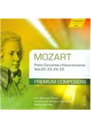 Mozart: Piano Concertos Nos. 20, 23, 24 & 25 (Music CD)