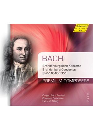 Bach: Brandenburg Concertos, BWV 1046-1051 (Music CD)