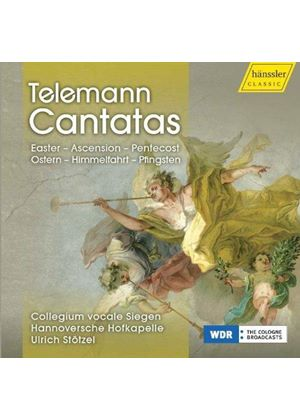 Telemann: Cantatas - Easter, Ascension, Pentecost (Music CD)