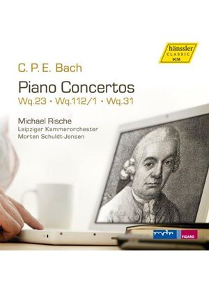 C.P.E. Bach: Piano Concertos (Music CD)