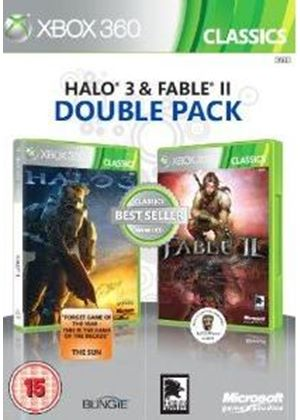 Halo 3 and Fable II - Double Pack (Xbox 360)