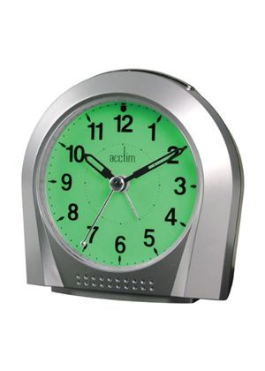 Smartlite Silent Sweeper Alarm Clock Glow in Dark 12257S