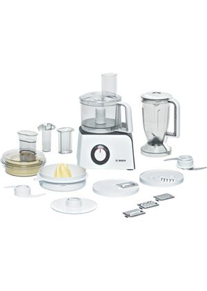 MCM4100 Compact Food Processor, White/ Anthracite Finish