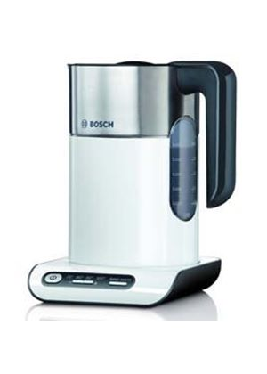 Styline Collection Kettle TWK8631GB, Four Temperature Control Settings, White And Stainless Steel