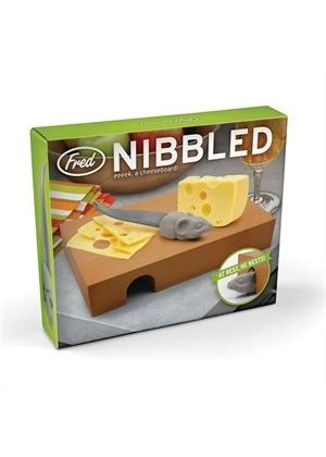Nibbled Cheese Board