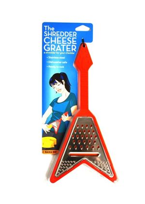 Electric Guitar Cheese Grater Red