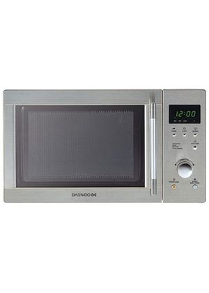 KOR6N7RS 20 litre 800 watt Touch Control Solo Microwave Oven, Stainless Steel