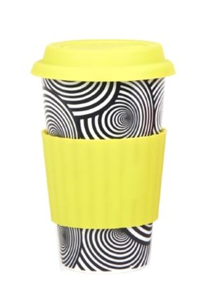Eco Cup Graphic Edition Yellow Band