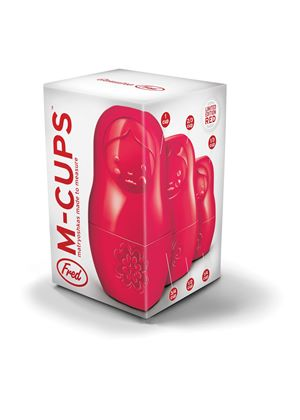 Limited Edition M-CUPS - Matryoshkas made to measure in Red