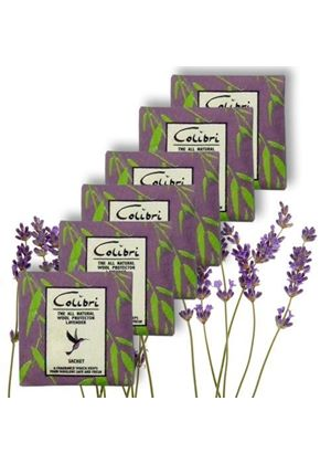 Moth Repellent Sachets with Lavender x 5