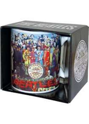 Beatles Sgt Peppers Boxed Mug