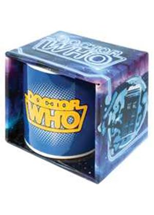 Doctor Who Logo Boxed Mug