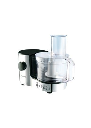 Compact FP126 Food Processor 1.4 Litre Chrome