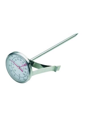 Kitchen Craft Milk Frothing Thermometer, Stainless Steel