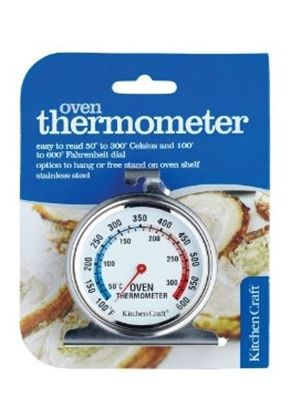Oven Thermometer, Stainless Steel