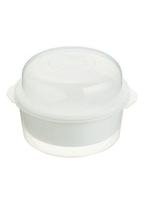 Microwave Cookware 3 Part Steamer Set 2.2 Litre