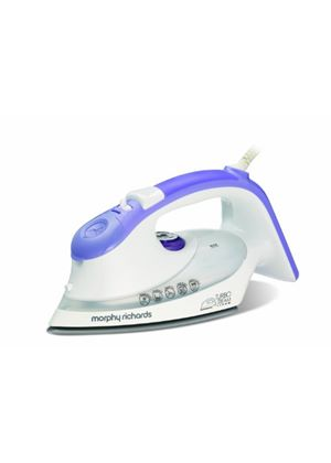 Morphy Richards Turbosteam 40626 Eco Steam Iron with Diamond Soleplate, Mauve