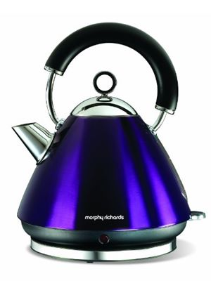 Morphy Richards Accents 43769 Pyramid Kettle, Plum