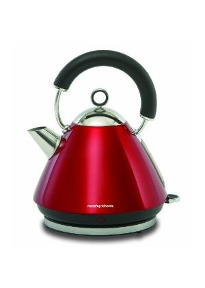 43772 Accents Pyramid Kettle - Red