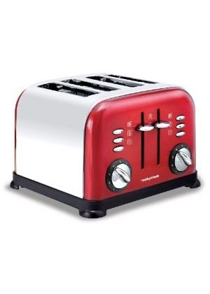 44732 4 Slice Accents Toaster - Red
