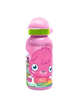 Moshi Monsters Poppet Aluminium Bottle, 400 ml, Pink