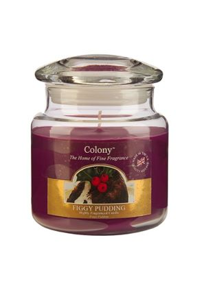 Homescents Candle Jar, Figgy Pudding