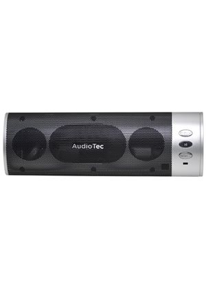 Audiotec Boombox Portable Speaker Silver