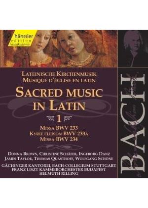 Johann Sebastian Bach - Sacred Music In Latin - Vol 1 (Brown/Schafer/Danz/Schone)