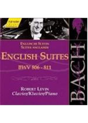 Johann Sebastian Bach - Bach Edition Vol.113 - English Suites (Levin)