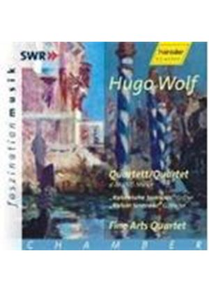 Hugo Wolf - String Quartets In D Minor (Fine Arts Quartet)